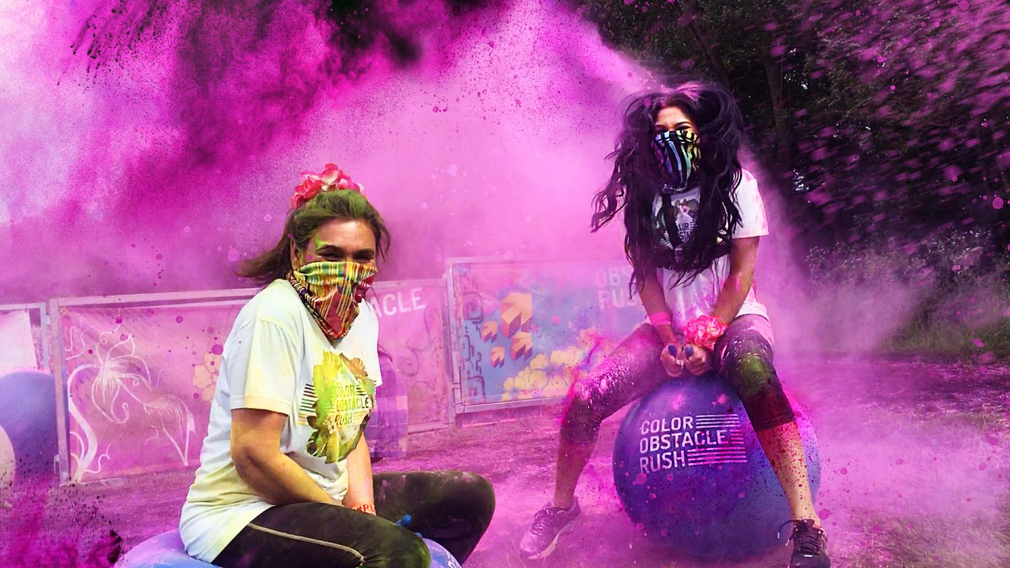 Living Colourfully- The Color Obstacle Rush and Color Run